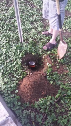 Upside down bourbon