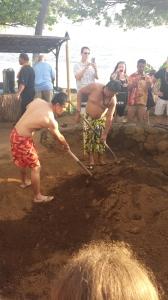 A real (touristy) Hawaiian luau