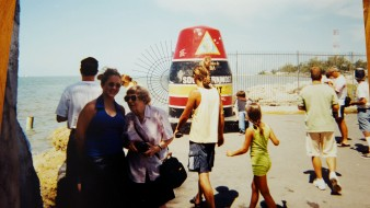 Grandmother and me in Key West, 2001.