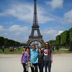 The cliché Tour Eiffel pic