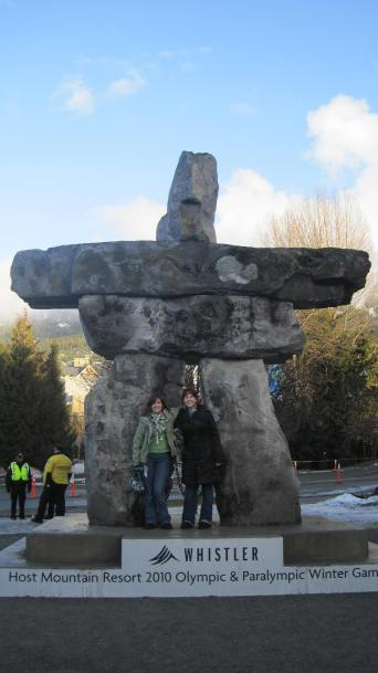 Katie and I, Whistler 2010.
