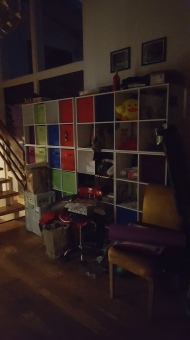Cubbies for housemates and visitors