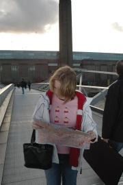 2005, so no GPS. Had to use a map in London!