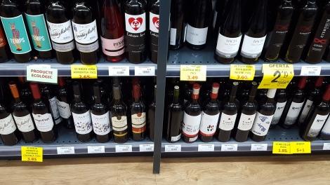 Cheap ass wine.